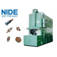 High efficiency Armature Trickling Impregnation Machine , Adjustable Pitch Time Manufactures