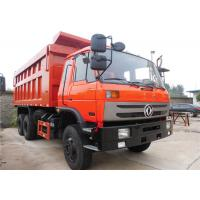 China Dongfeng 6 X 4 Heavy Duty Dump Truck 10 Wheels Tipper Truck For Construction Material Transportation on sale