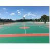 3mm Outdoor Basketball Court Flooring, Polyurethane Resin Tennis Court Flooring Manufactures