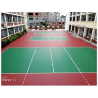 China Outdoor Volleyball Court Flooring Material For Tennis , Basketball , Badminton on sale