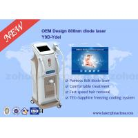 Touch Screen Professional 808 Diode Laser Hair Removal Machine For Body Manufactures