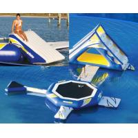 Aqua Floating PVC Tarpaulin Inflatable Water Park / Giant Inflatable Water Games Manufactures