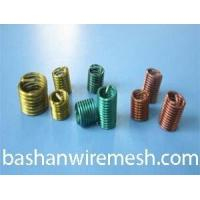 Color high temperature alloy stainless steel screw wire thread inserts Manufactures
