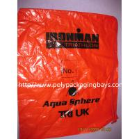 Fashionable Plastic Drawstring Backpack Bags CPE LDPE Shoulder For Clothes Manufactures