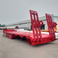 China Multi Axle Heavy Duty Modular Lowboy Semi Trailer 100 150 200 Ton Hydraulic Modular on sale