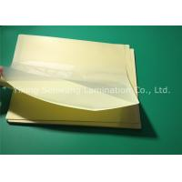 Protective Sticky Back Laminating Film A4 , Heat 10 Mil Laminating Sheets Manufactures