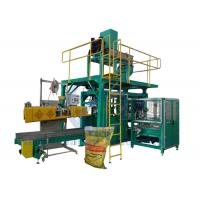 Aquatic Feed Big Bag Packing Machine For 25Kg PP Woven Bag With Label Manufactures
