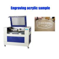 40 W Co2 Laser Engraver , Small Size Laser Engraving Equipment High Speed Manufactures