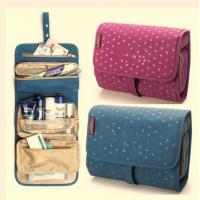 Colorful Travel Travel Makeup Bag , Cosmetic Rolling  Travel Bags For Women Manufactures