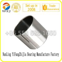 Quality Solid Self Lubricating High Performation PTFE bearing bushing / Sliding bearing for sale