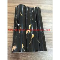 Wear Resistant PVC Imitation Stone Slab Waterproof Plastic Skirting Line Manufactures