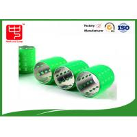 China Self grip Green  hair curlers cylinder Shape Nylon  on sale