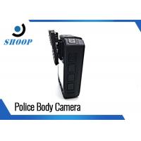 Surveillance Body Worn Video Camera , Police Video Camera With Long Time Recording Manufactures