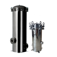 China Industrial Filtration SUS304 6mm 5 Micron Multi Cartridge Filter Housing on sale