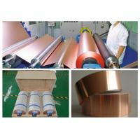 7 Mic LB Single Shiny Copper Thin Sheet High Temperature Resistance Manufactures