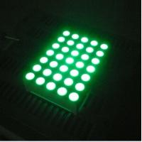 Pure Green 5x7 Dot Matrix 3mm LED Lights Moving Message Signs Manufactures