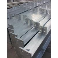 Hot - dip Galvanized Warehouse Steel Structure Prefabricated ISO9001 Manufactures