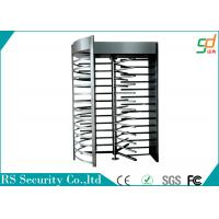 Prison Industrial Grade Full Height Turnstiles Access Control , Stainless Steel Housing Manufactures