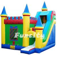 Plato 0.55mm PVC Inflatable Bouncy House with Custom Design Manufactures