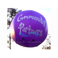 Quality Weather Resistant Printed Helium Balloons Sphere / Printed Cloud Buster for sale