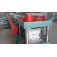 Quality Width 100 - 300mm Z Type Purlin Cold Roll Forming Machine For Exhibition for sale