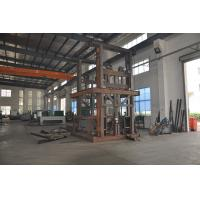 0.5T 4.5m Guide Rail Elevator Shear Fork Lift Platform with Emergency Stop Button for Cargo Manufactures