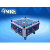 Indoor playground Hockey table Square Cube Air Hockey Blue Ocean 4 player hockey machine Manufactures