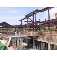 Prefabricated Building Steel Frame For A Structure Steel Hotel Manufactures