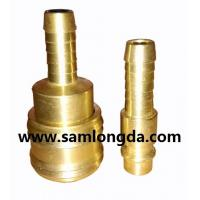 Buy cheap German type quick coupler, air hose coupler, brass material with high pressure from wholesalers