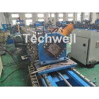 Customized Cold Roll Forming Machine For Making Hat Section / Furring Channel Manufactures