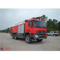 Extinguishing System Industrial Fire Truck With Intercooled Diesel Engine Manufactures