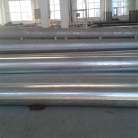 Quality 30FT High Hot Dip Galvanized Steel Electric Power Pole 127mm / 248mm Diameter for sale