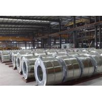 spangle chromated / oiled JIS Hot Dipped Galvanized Steel Coils / galvalume steel coil Manufactures