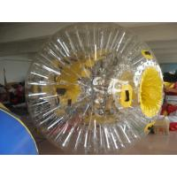 Clear Colorful Shining Inflatable Zorb Ball Walk On Water Ball By Sea Manufactures