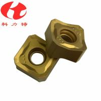 Buy cheap Tungsten Carbide Milling Machine Cutting Tools , CNC Milling Inserts High from wholesalers