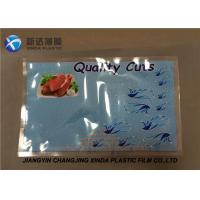 Nylon / PE Space Saver Sea Food Vacuum Bags for Packing Customized Manufactures