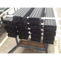Sand Blasted Black Powder Coating Aluminum Industrial Profile for Auto Aluminum Profile Manufactures
