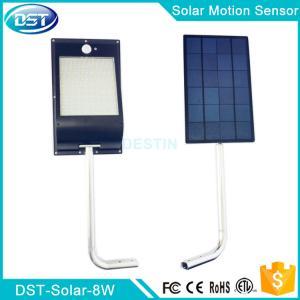 China Brand New 8W solar powered motion detector light 10000mah capacity 81PCS  2385 SMD on sale