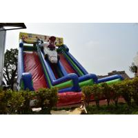 Buy cheap Big Inflatable Super Mario Subject High Slide Beautiful Inflatable Digital Painting Tall High Dry Slide from wholesalers