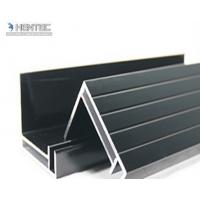 6063 T5 / T6 Aluminum Solar Panel Frame With Screw Joint / Corner Key Joint Manufactures