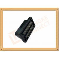 PVC Male Nickel Obd 16 Pin Connector SOM035A For Automotive Manufactures