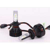 Quality 36W 12V LED Headlight , T8 H7 Vehicle Headlight Bulbs Philips ZES LED Chip for sale