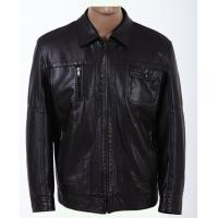 Quality Black Knitting and Viscose, Luxury, Stylish and Designer Leather Jackets for Men Manufactures