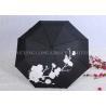 Creative Colour Changing Umbrella , Plastic Handle Fold Away Umbrella Manufactures