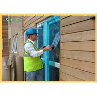 Dustproof Blue PE Protective Film / Window Glass Temporary Protection Film Manufactures