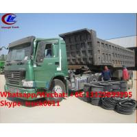 Factory sale best price CLW brand 36m3 dump tipper trailer, HOT SALE! high quality and good price dump tipper trailer Manufactures