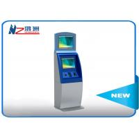Floor standing ticket vending machine with cash payment all in one kiosk Manufactures