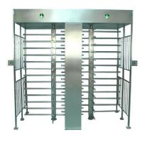 Door access control 304# Stainless steel full height Turnstile gates outdoor Manufactures