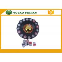 "32"" Roulette Wheel Casino Mini Lucky Roulette Wheel Poker Chips Sets With 16pcs Cups Manufactures"