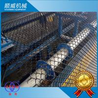 PVC Wire Chain Link Fence Machine Twist Edge Lock Method , Chain Link Fence Equipment Manufactures